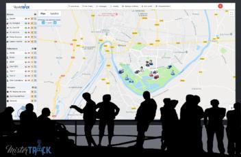 Localizador GPS gestion de crisis