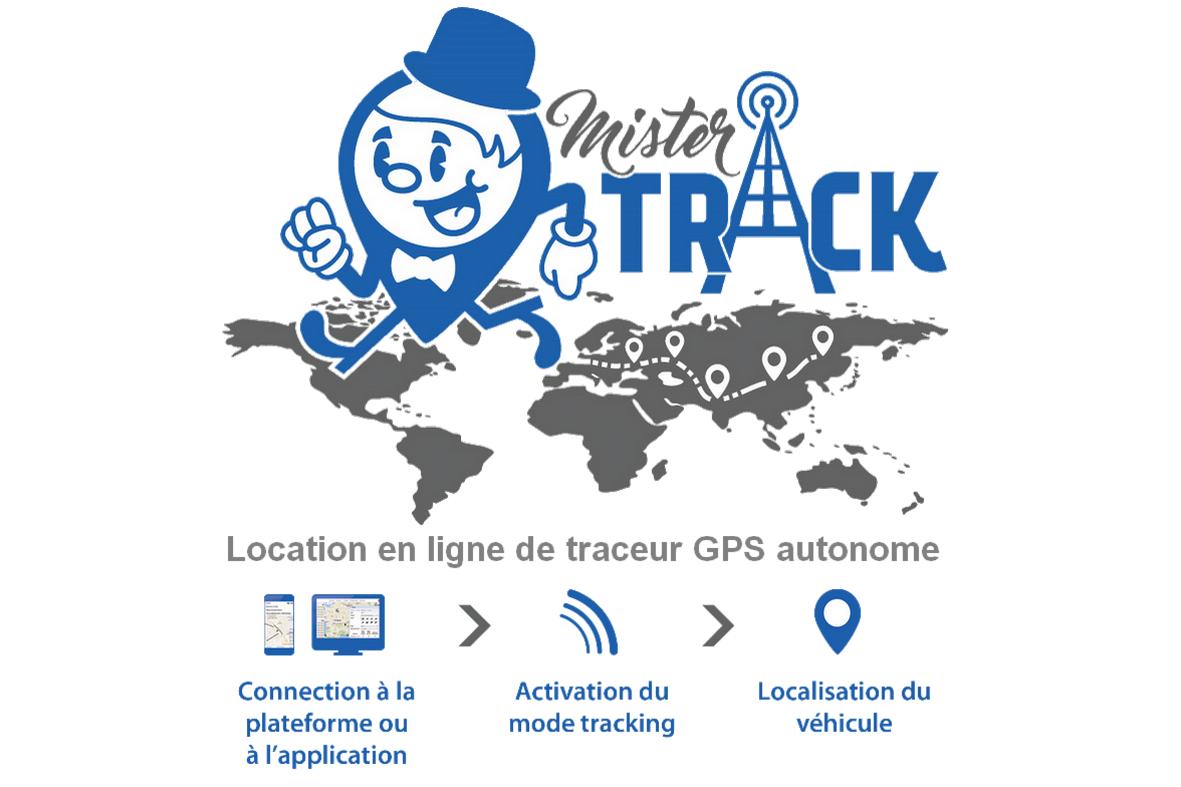 Location en ligne de balise GPS autonomes