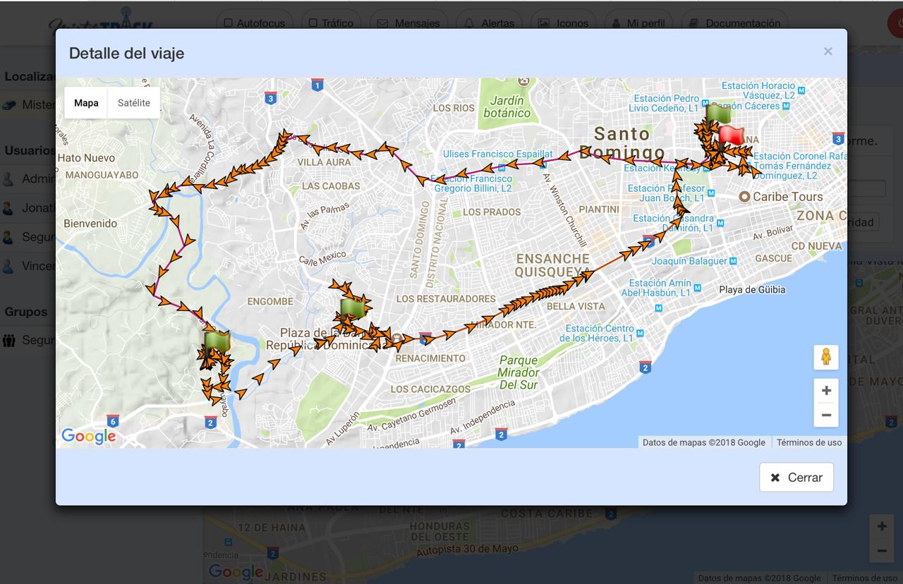Informe detallado Santo Domingo