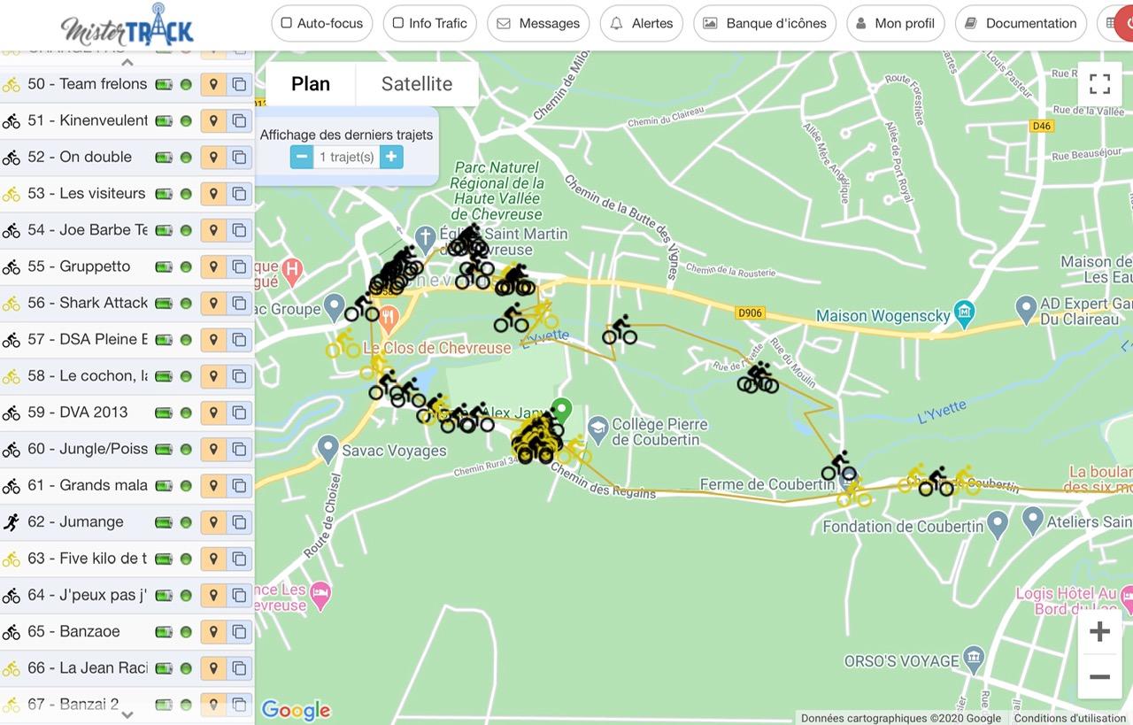 Alquiler Localizador GPS para trail