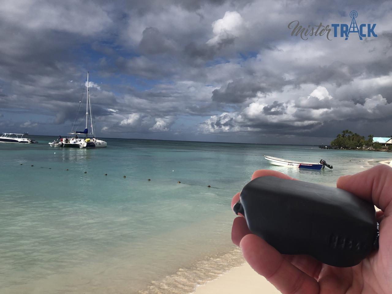 Rasreador GPS para barcos