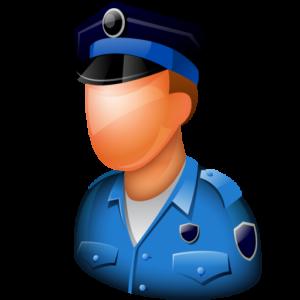 Localizador GPS policia