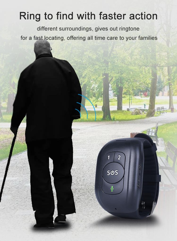 Bracelet traceur GPS Alzheimer