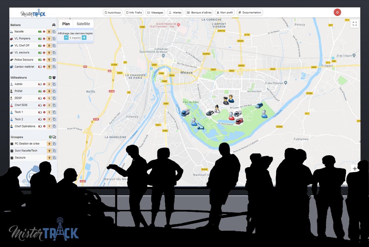 Mister Track, l'outil innovant de gestion de crise
