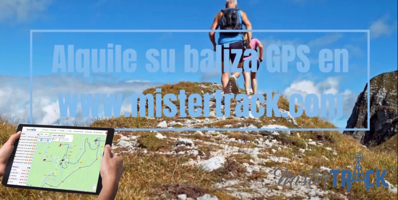 Baliza GPS para trail y raid de aventura : alquiler de balizas GPS Mister Track