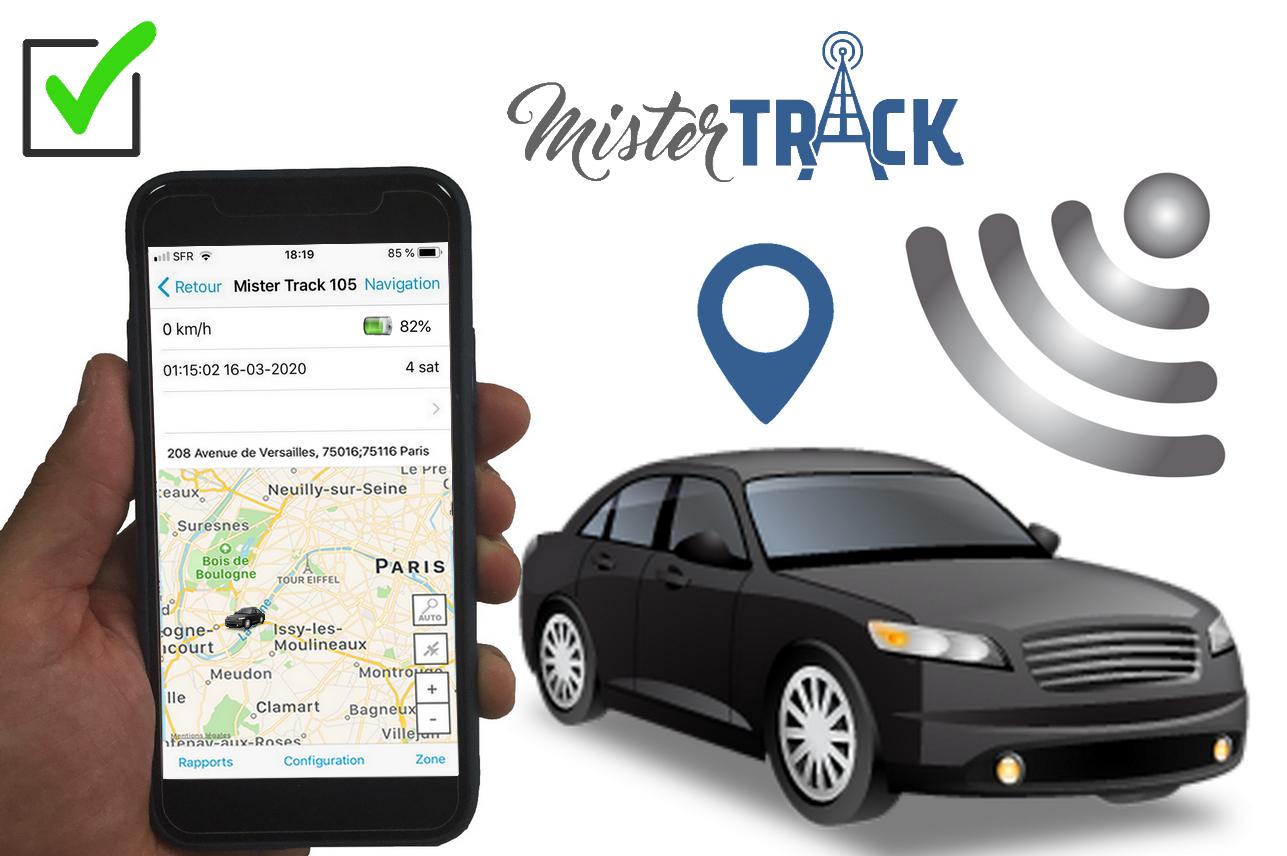 Suivi de véhicules par satellite: Mister Track le traceur GPS autonome le plus précis de France