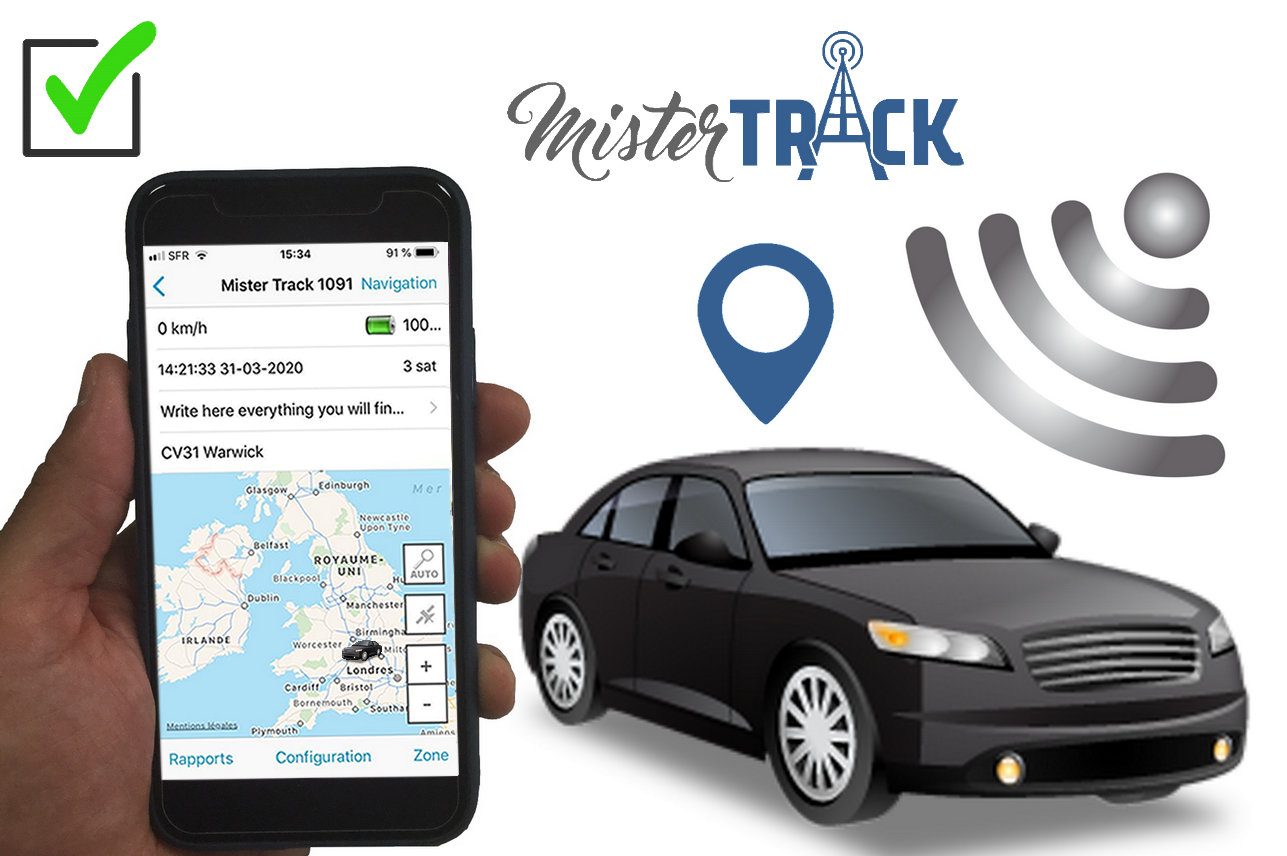 Vehicle tracking by satellite: Mister Track the most precise autonomous GPS tracker in United Kingdom