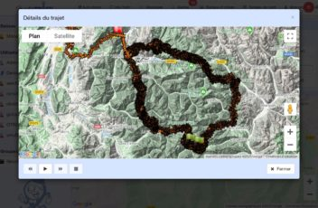 Traceur GPS trail
