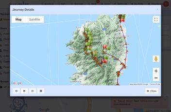 Localizador GPS trekking