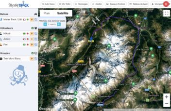 Baliza GPS trekking