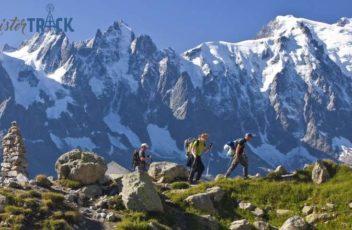 Localizador GPSTrekking montaña