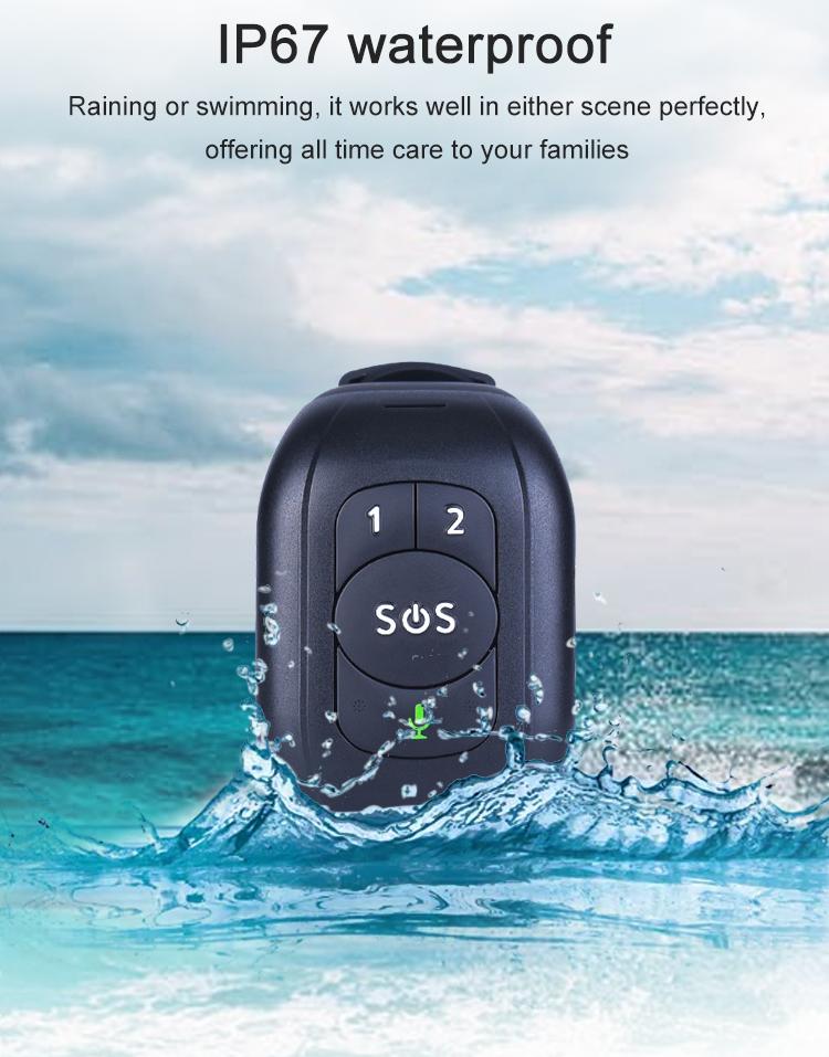 Bracelet traceur GPS étanche