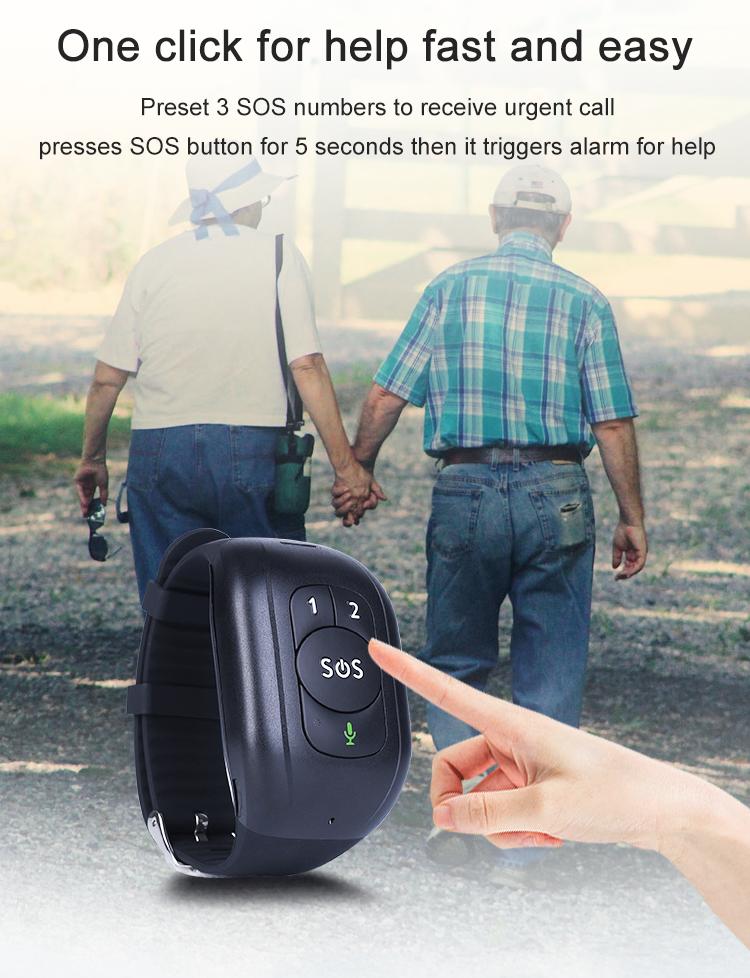 Bracelet traceur GPS adulte