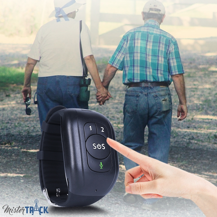 Le bracelet GPS pour les séniors